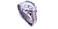 Silver spy watch with IR camera 4GB/8GB/16GB/32GB
