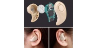 Wireless spy micro earpiece bluetooth headset