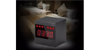 Full HD Spy alarm clock with motion detection and night vision