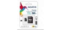 ADATA 32GB Premier microSD Class 10 Card with Adapter