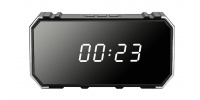 4K Wi-Fi HD spy alarm clock with night vision and motion detection