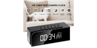 Worldwide Live Streaming Video WiFi Camera Clock