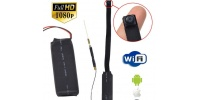 Wi-Fi Full HD camera module with battery