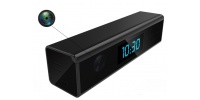 Mini desk clock with 1080P Wi-Fi camera