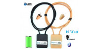 Spy earpiece with bluetooth loop + 10W amplifier - TOP 2021